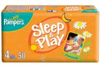 Памперсы Sleep & Play 4, (7-14кг) 50шт. Польша