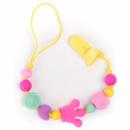 Прорезыватель-держатель для соски BabyMio Разноцветный (PROD5)
