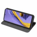 Чехол-книжка Dux Ducis с карманом для визиток для Samsung Galaxy A71 Черный