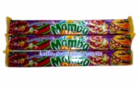 Жвачки конфеты Mamba Duo (фруктовые) 106 гр. (4 шт х 26,5 гр.)