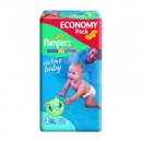 Pampers Active Baby 4 (7-14кг) 62 шт