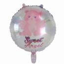 Фольгированный шарик Сладкий ангел розовый 18'' 45 см