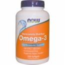 Рыбий жир Now Omega 3 (200 sg)