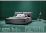Кровать ЛЮКС Мери с подушками