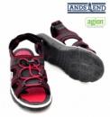 Босоножки (сандалии) подростковые с открытым носком антимикробные, бренд «Lands`End» (Америка)