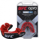 Капа OPRO Junior Silver UFC Hologram Black/Red (art.002265002)