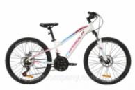 Велосипед AL 24« Formula BLACKWOOD 2.0 AM DD 2020 (бело-фиолетовый с голубым (м))