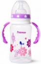 Бутылочка детская для кормления Fissman Babies «Цветочки» 300мл с ручками