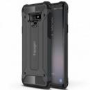 Бронированный противоударный TPU+PC чехол SPIGEN (HC) для Samsung Galaxy Note 9 Серый