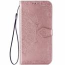 Кожаный чехол (книжка) Art Case с визитницей для Xiaomi Mi 9 SE Розовый