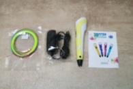 3д Ручка 3D ручка для рисования с экраном + пластик