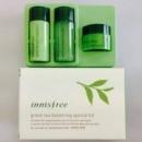INNISFREE Green tea balancing - мини-сет 3 единицы