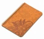 Блокнот «Менди» коричневые листы