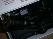 Фонарь аккумуляторный Police 8377 на 2000 W - полный комплект зарядок!