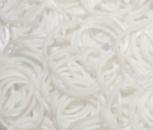 Резинки для плетения Loom Bands, белые 200 шт.