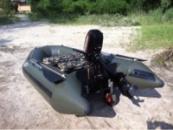 Транцевые колеса на лодку ПВХ