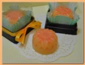 Тающая гидрофильная плитка «Сочный персик»