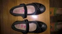 Туфлі чорні по стільці 18.5см б\у