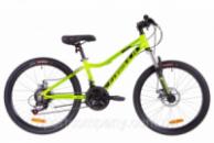 Велосипед 24« Formula ACID 1.0 AM 14G DD Al 2019 (салатно-черный с бирюзовым)