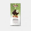 Шоколад TORRAS чёрный с лесными орехами Stevia, 125 г