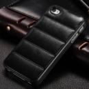 Чехол для iPhone 4/4S кожа, чёрный