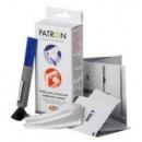 PATRON набір для очистки цифр. фото (двохстор.щітка+спецсалфетки; для корпусів, футлярів, лінз, екранів)