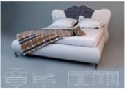 Кровать ЛЮКС Монро 2