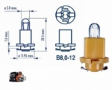 Автомобильная лампа 24V/1.2W щитка приборов (MEGA)