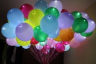 гелиевый шар со светодиодами