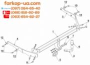 Тягово-сцепное устройство (фаркоп) Ford Focus III (universal) (2011-2018)