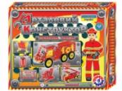 Конструктор металлический «Пожарная техника ТехноК», арт. 2056