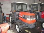 Японский мини-трактор Kubota Gl27 с кабиной.