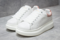 Кроссовки женские в стиле Alexander McQueen Oversized Sneakers, белые (14751),  [  36 37 38 39 40  ]