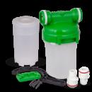 СВОД Корпус магистрального фильтра 5« для холодной воды с картриджем под засыпку (Smart - подключение)