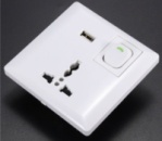 Сетевая розетка iCool с Usb зарядкой (1USB)