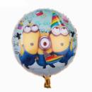 Фольгированный шарик Миньоны 18'' 45 см