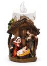 Декор «Рождественский Вертеп» 13.5см с LED-подсветкой