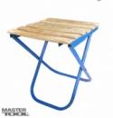 Стульчик складной 300*330*345 мм с деревянным сидением Господар 92-0869