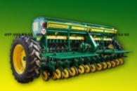 Зерновая сеялка Харвест 360 с прикатывающими колесами