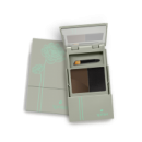 Тени-дуэт для бровей с аппликатором KUPAVA