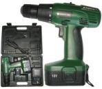 Аккумуляторный шуруповерт Craft-tec PXCD215 (зеленый)