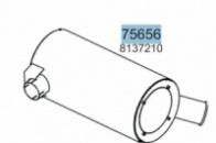 Глушник IVECO EUROTECH/EUROSTAR 8137210, 28383, 75266 (вироб-во HOBI)