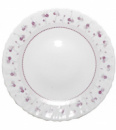 Набор 6 обеденных тарелок «Нежный луг» Ø24см, стеклокерамика