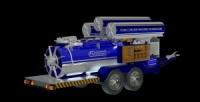 Производство оборудования для пенобетона. Мобильный строительный комплекс FC100WM