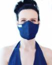 Многоразовая защитная маска Vona Dmytra Синий (ДЖ-1)