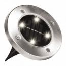Уличный светильник на солнечной батарее Solar Disk Lights 5050 4 led