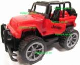 Машина на р/у открываются двери Джип Wrangler Большие колёса, длина 17см, аккумулятор, свет