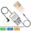 DOXINGYE USB SD AUX эмулятор для автомагнитолы Volvo Вольво C70 S40/60/80 V70