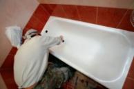 Реставрация металлических  ванн