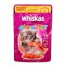 Whiskas 85 гр для котят мясной паштет из курицы